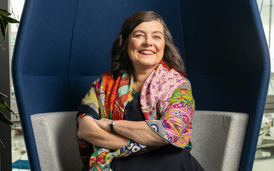 FREE TO USE IMAGES  Pictured:  Portrait of Starling Bank CEO Anne Boden at  the Southampton office in Town Quay, Southampton, Hants.   Contact:  Eliza Odire-Boadi +447480063773  PR Handout - Free to use